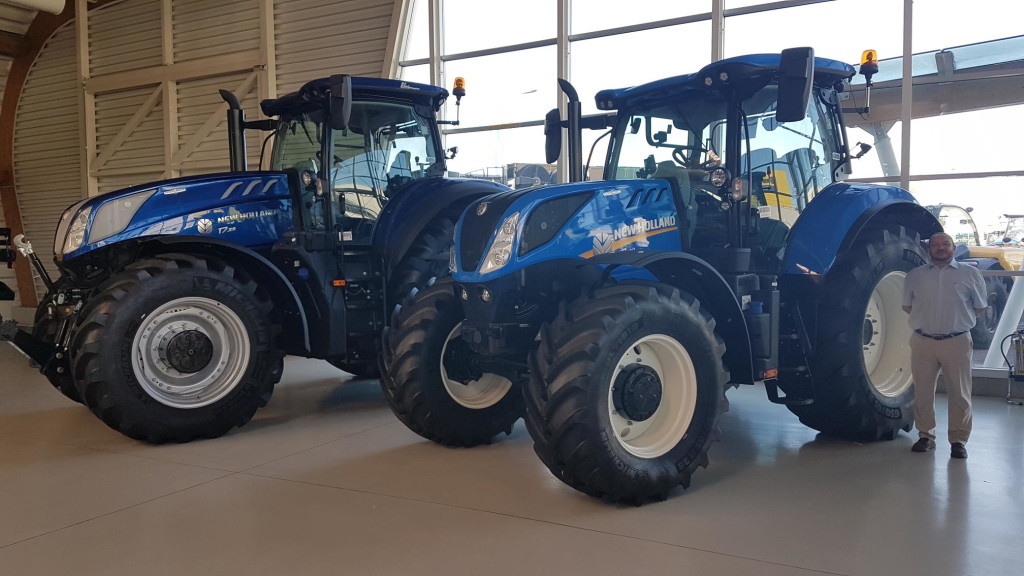 Accelerating electrification of agricultural vehicles